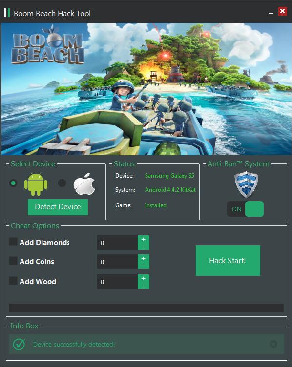 Boom Beach Hack Diamonds Hack - Coins Hack