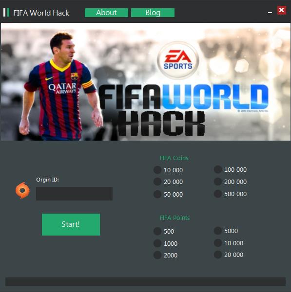 FIFA World Hack