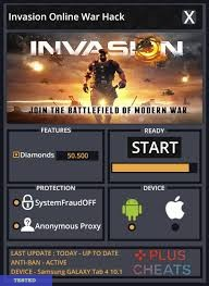 Invasion Online War Hack