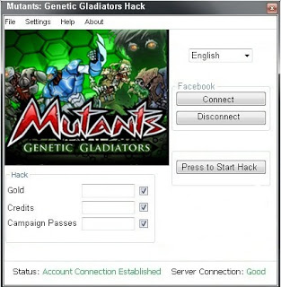 MUTANTS GENETIC GLADIATORS HACK CHEATS ADD UNLIMITED CREDITS AND GOLD