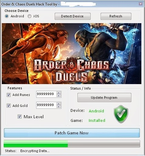 Order and Chaos Duels Hack for Runes, Silver & Gold2