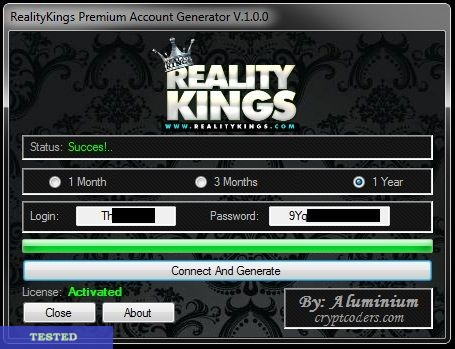 Reality Kings Account Generator