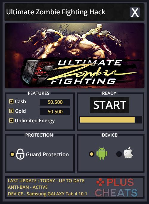 ultimate zombie fighting hack