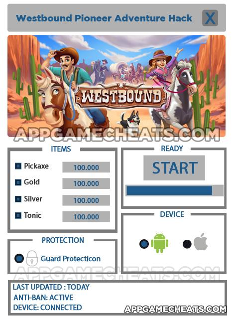 westbound-pioneer-adventure-hack-cheats-pickaxe-gold-silver-tonic
