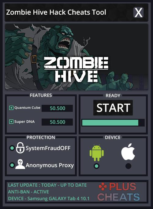 zombie hive hack