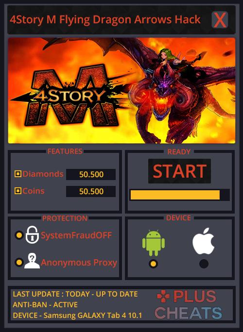 4Story M Flying Dragon Arrows hack