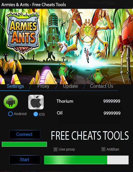 Armies & Ants Hack Tool