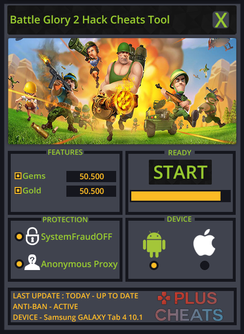 Battle Glory 2 Hack Cheats Tool Unlimited Gems and Gold