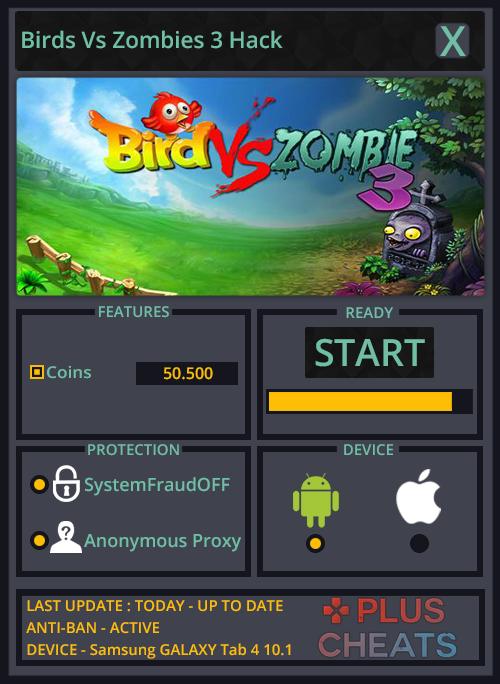 Birds Vs Zombies 3 hack