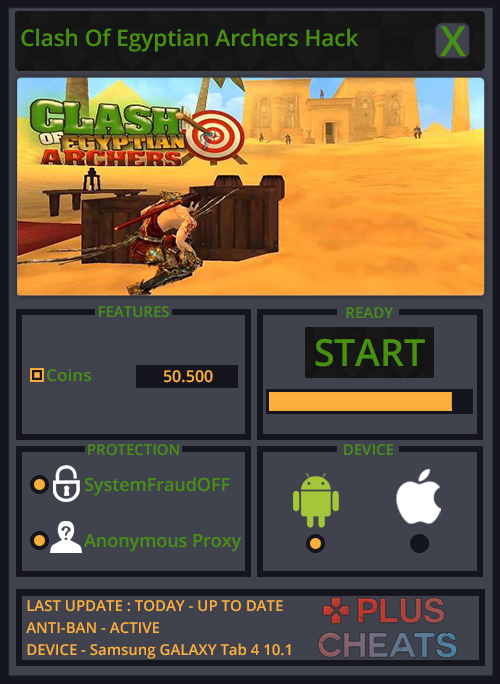Clash Of Egyptian Archers hack