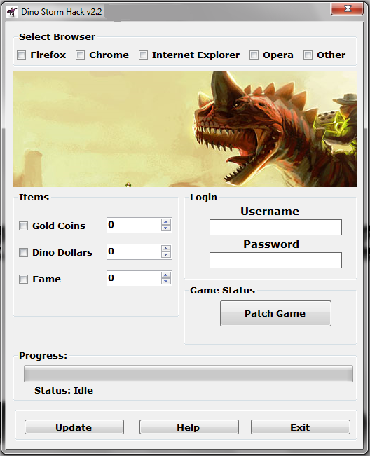 Dino Storm Hack Tool