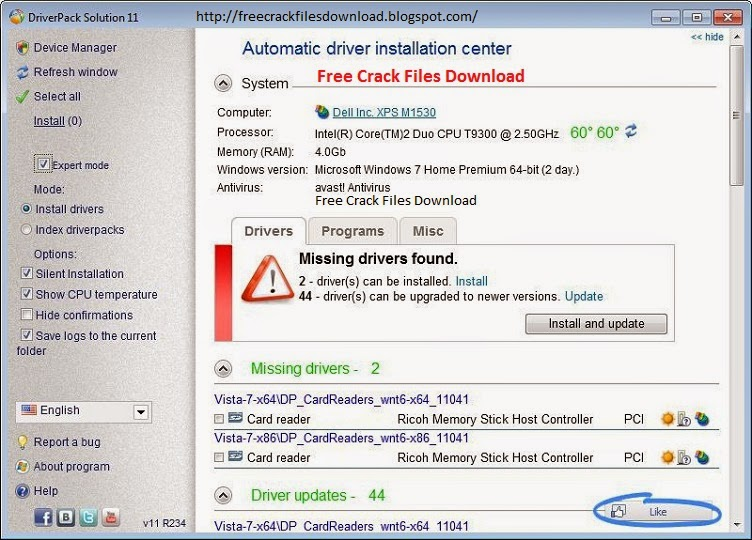 Latest DriverPack Solution v14.7R417 With All Driver Pack