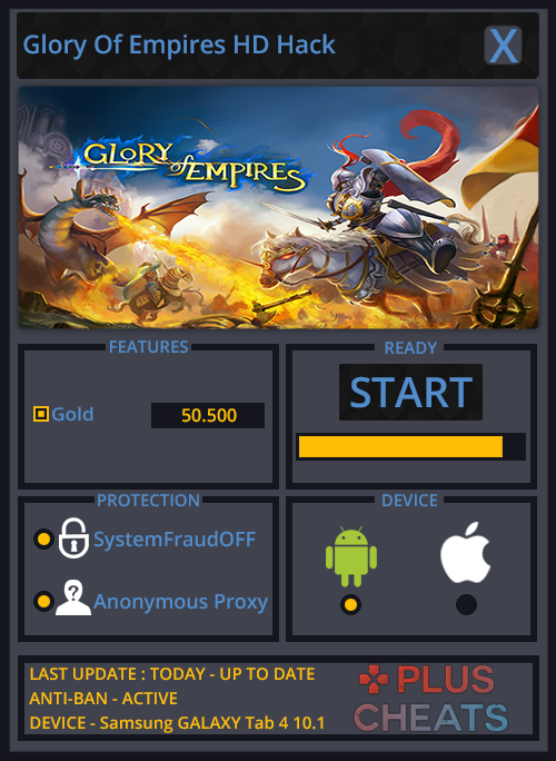 Glory Of Empires HD hack