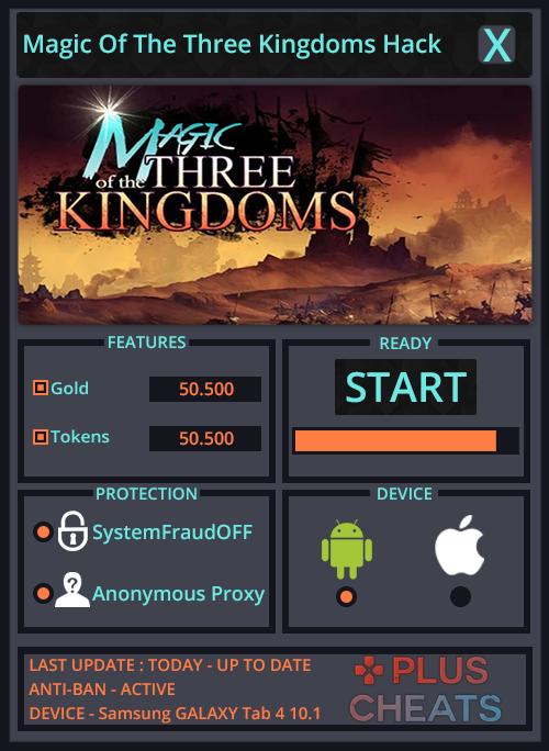 Magic Of The Three Kingdoms Hack Tool