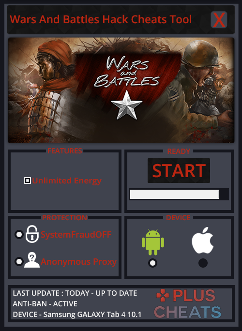 Wars And Battles hack
