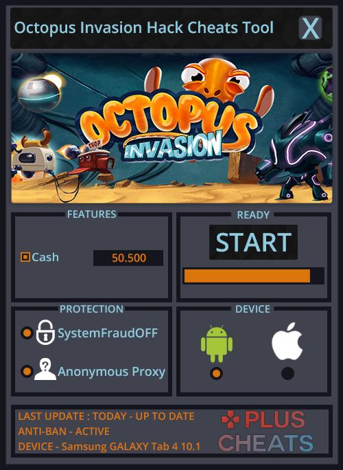octopus invasion hack
