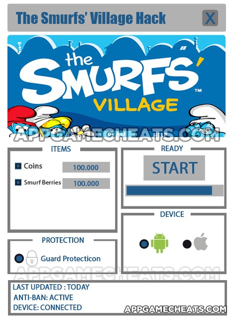 Smurfs Village Hack for Coins & Smurf Berries