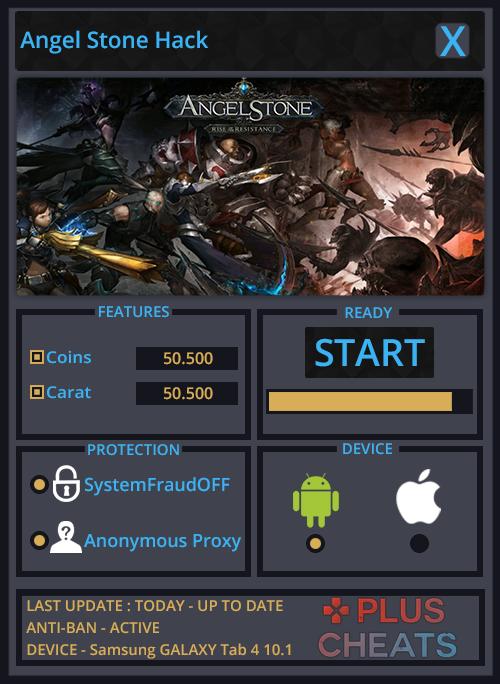 Angel Stone hack