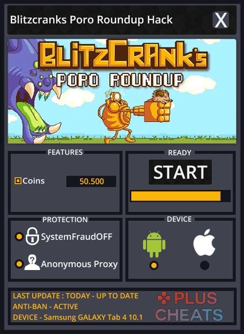 Blitzcranks Poro Roundup hack