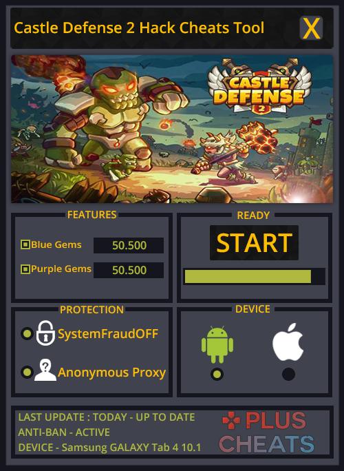 Castle Defense 2 hack