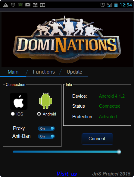 DomiNations Hack Tool