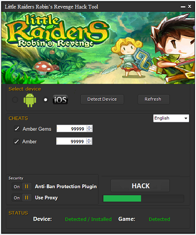 Little Raiders Robins Revenge Hack Tool
