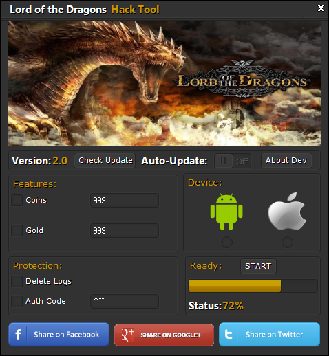 Lord of the Dragons Hack Tool