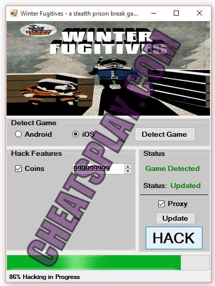 Winter Fugitives a stealth prison break game Hack Tool