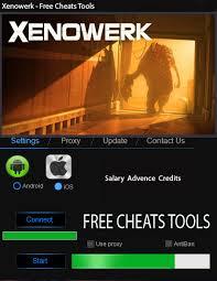 Xenowerk Cheat Tool