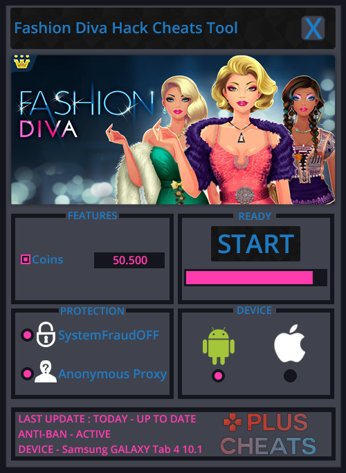 fashion diva hack