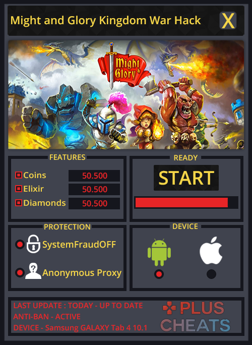 Might and Glory Kingdom War hack