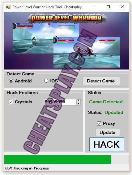 Power Level Warrior Hack Tool