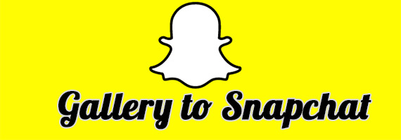 Gallery to Snapchat