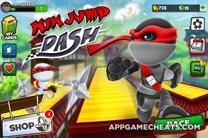 NinJump Dash Multiplayer Race Hack for Jade & Coins 2
