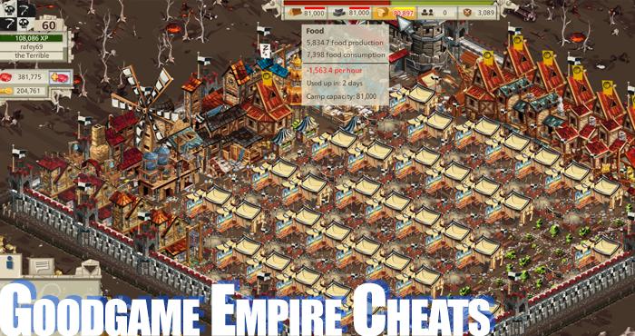 Goodgame Empire Cheats
