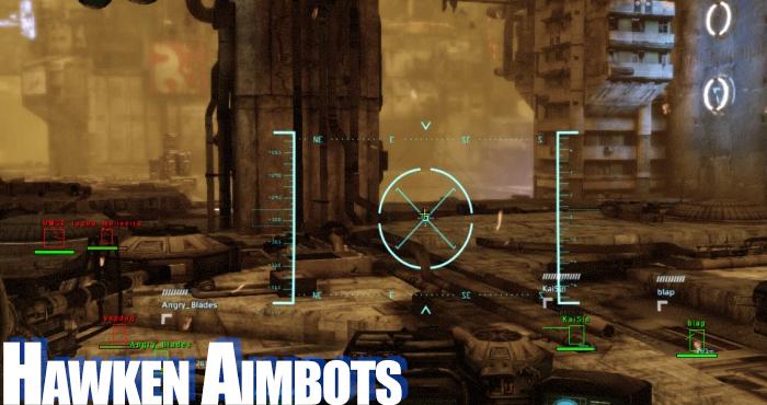 hawken aimbots
