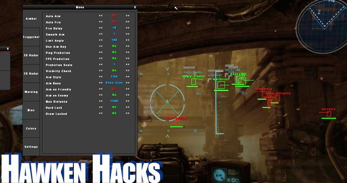 hawken hacks
