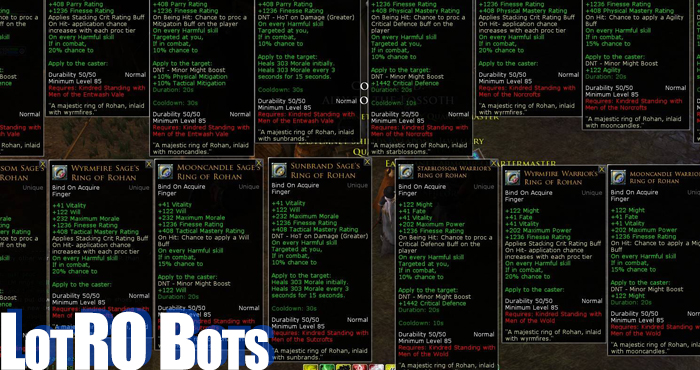 Lord of the Rings Online Cheats 21
