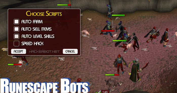 Runescape Cheats, Runescape Bots 3