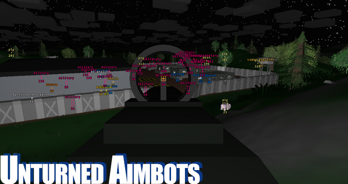 Unturned Cheat, Unturned Aimbots and ESP Hacks