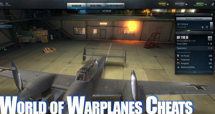 World of Warplanes Hack 2