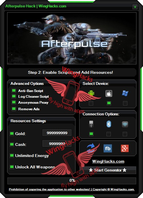 Afterpulse Hack Android iOS Download Cheat Tool check our new solution!