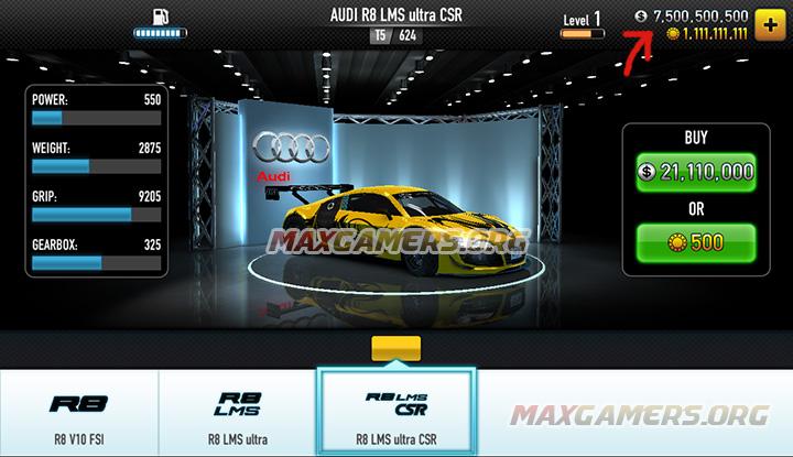 CSR Racing Hack Android