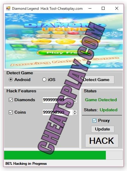 Diamond Legend Hack Tool
