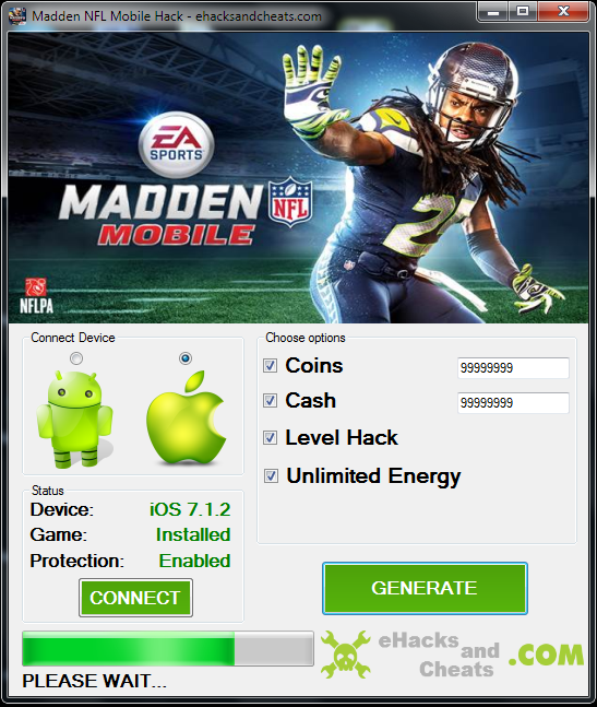 Madden NFL 21 Mobile Football Hack Cash and Training ...