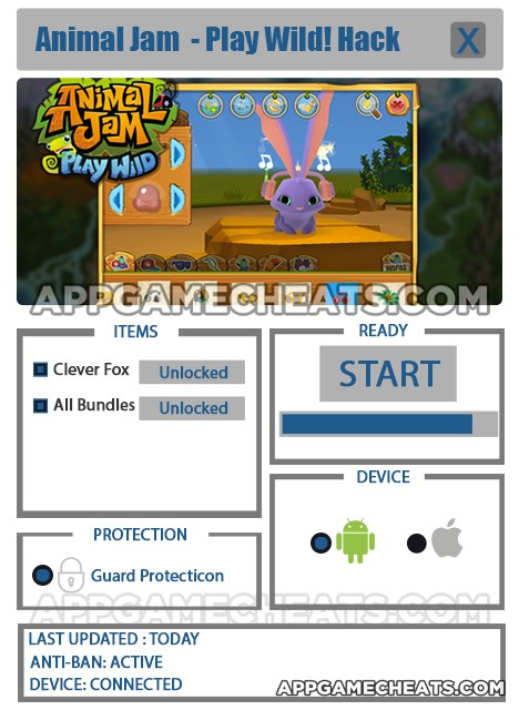 Animal Jam – Play Wild! Hack for Clever Fox & All Bundles Unlock