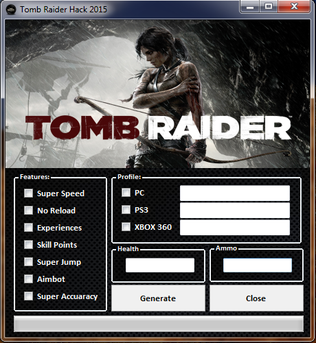Rise of the Tomb Raider Hack 2