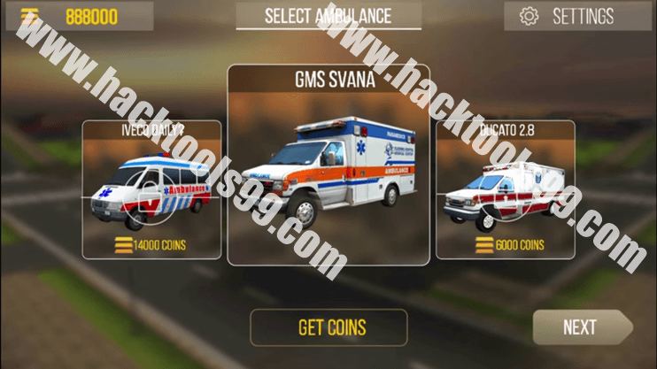 Ambulance Rescue Simulator 3D Hack Working Proof
