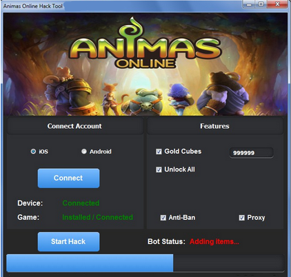 Animas Online Hack Unlimited Gold Unlimited Gold Cubes Unlock All Anti-Ban