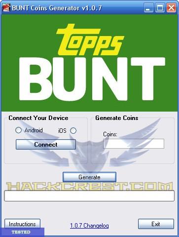 Topps Bunt Hack Cheats